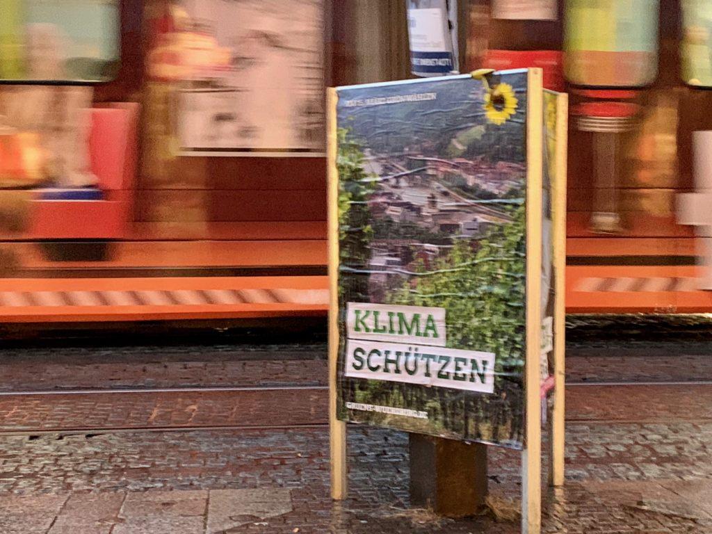 Plakat Klima schützen