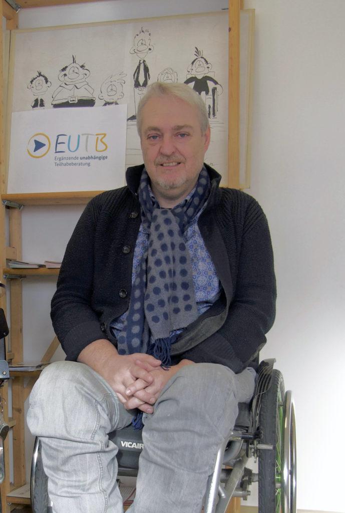 Michael Gerr in WüSL-Räumen